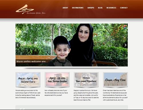 Caravan Serai Travel Page