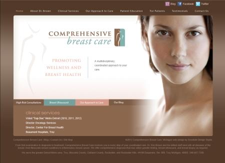 Web Copywriting Comprehensive Breast Carea