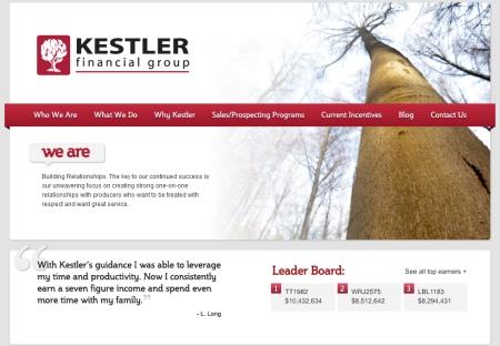 Financial Industries Web Copy